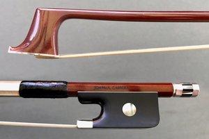 JonPaul JonPaul Carrera carbon-fiber viola bow, silver, USA