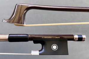 Spiccato Premiere adjustable silver viola bow by Benoit Rolland, USA