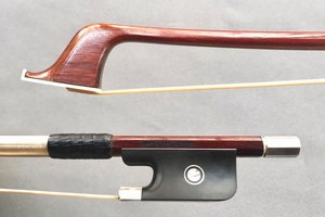 Brazilian FORNACIARI JUNIOR silver cello bow, Brazil