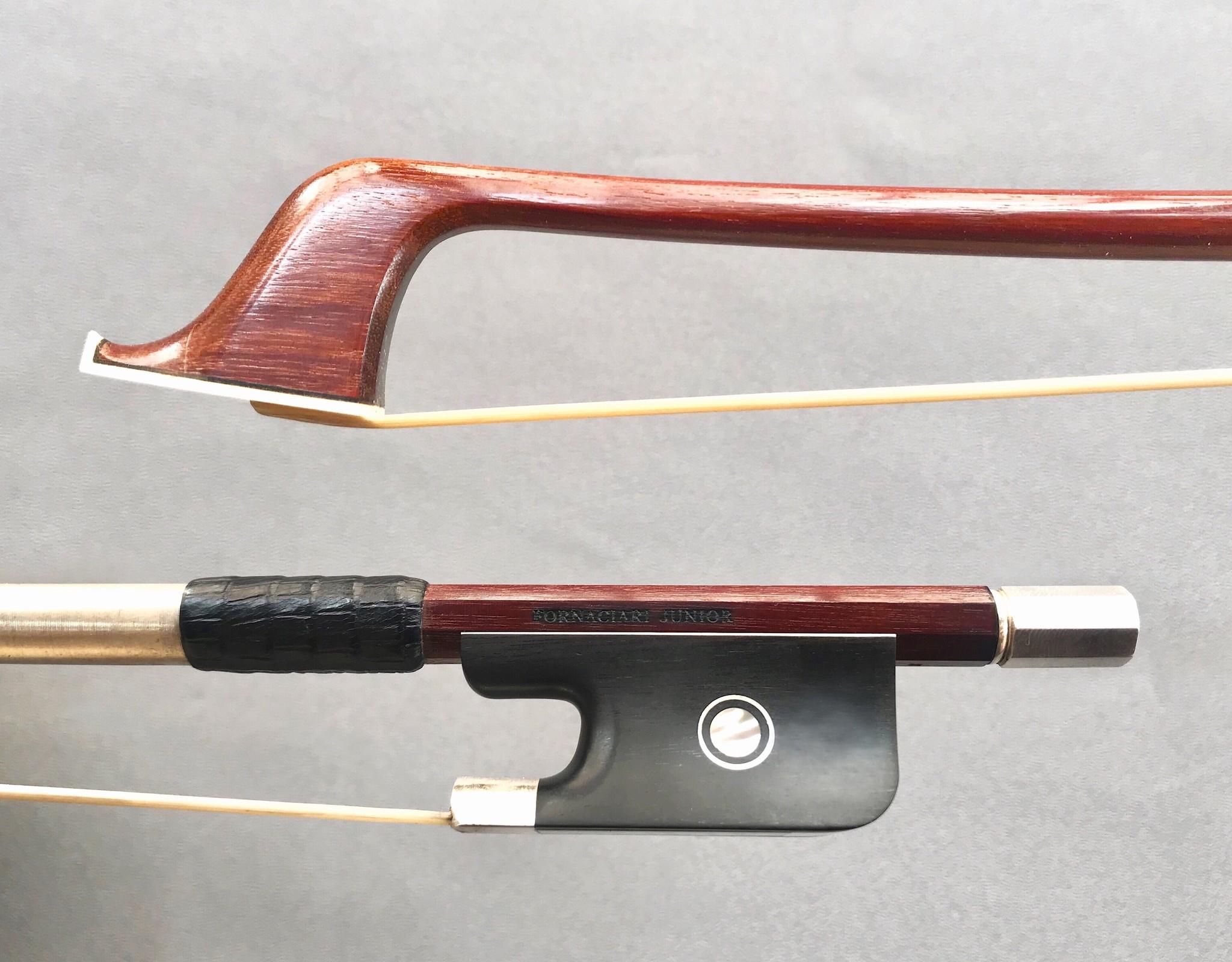 Brazilian FORNACIARI JUNIOR silver cello bow, Brazil