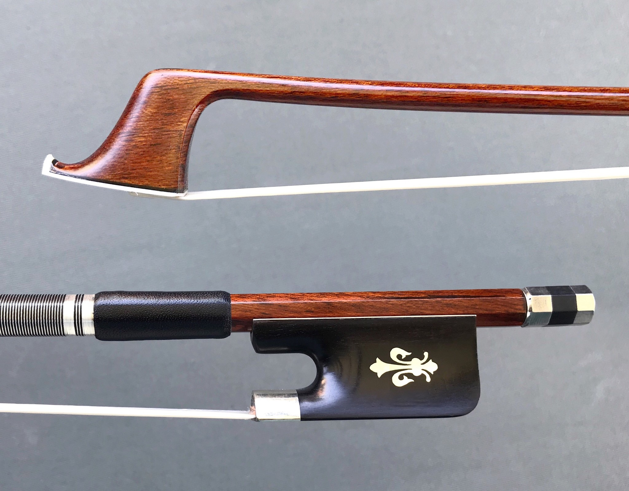 Carbon Fiber Brazilwood Veneer cello bow