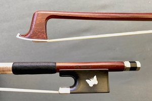 Czech J. Martin 1/4 Butterfly violin bow