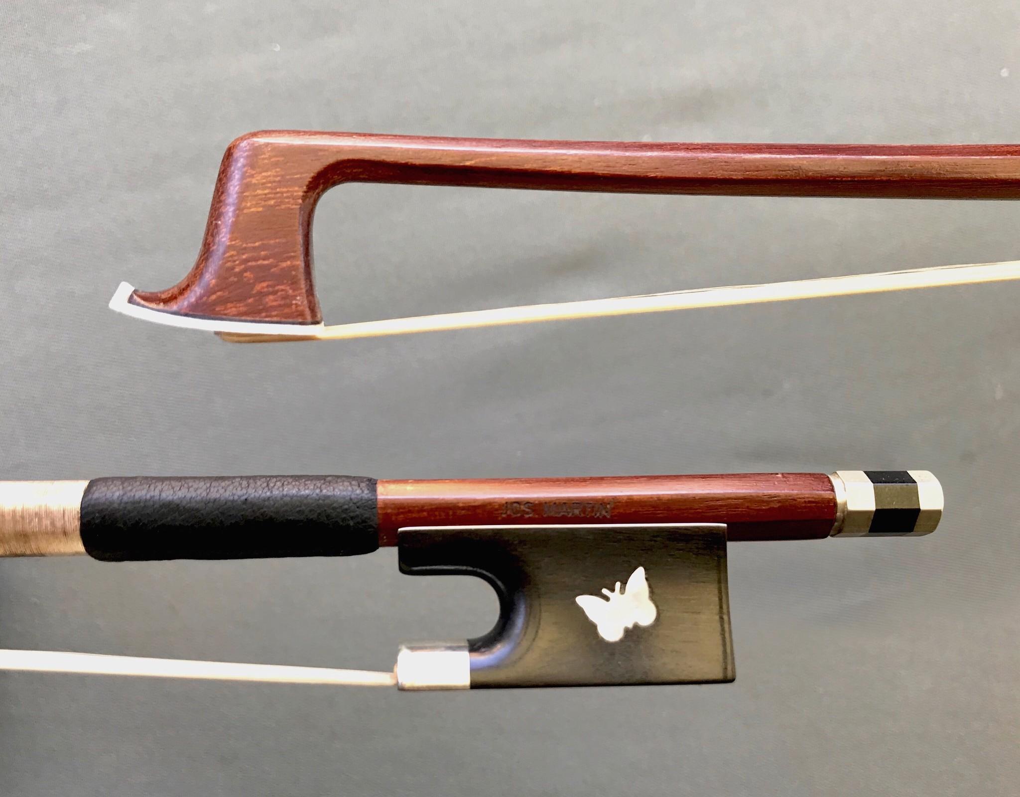 Czech J. Martin 1/4 Butterfly violin bow