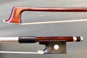 Arcos Brasil A. CARLESSO silver viola bow, Peccatte copy, from ARCOS BRASIL