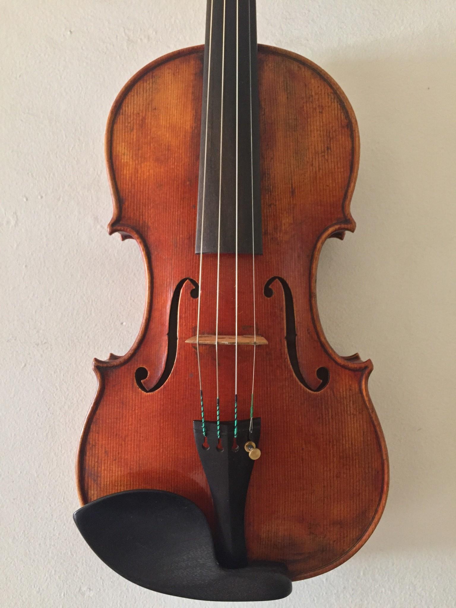 Grubaugh/Seifert violin, Petaluma, California, USA, 1997