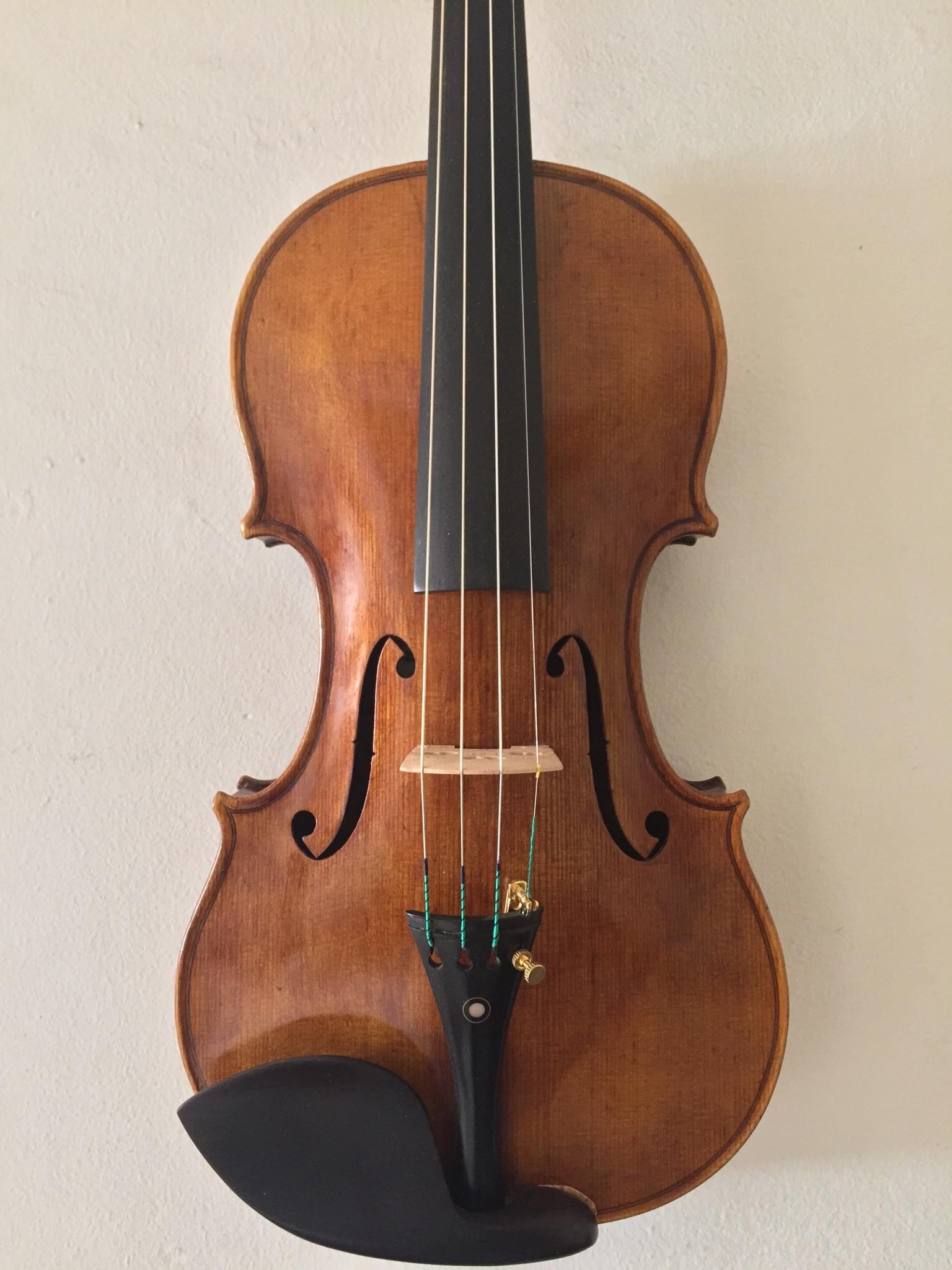 James Ropp violin, 2018, J14-G, Spokane, Washington, USA