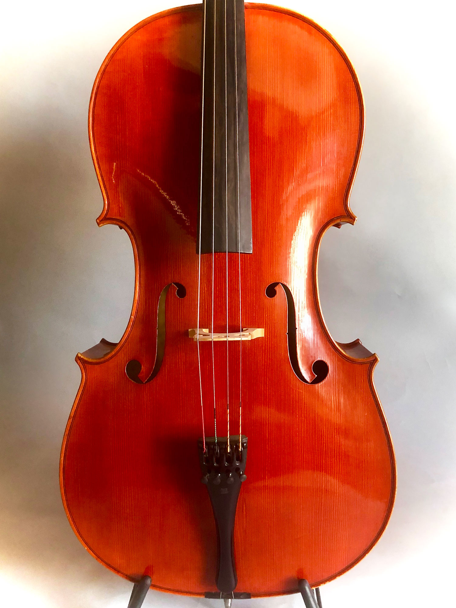 Italian Aldo Zani 4/4 cello, Cesena, Italy 1965
