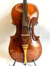 """Old """"Gio Paulo Maggini in Brescia 1657"""" labeled cello"""