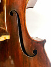 "Old ""Gio Paulo Maggini in Brescia 1657"" labeled cello"