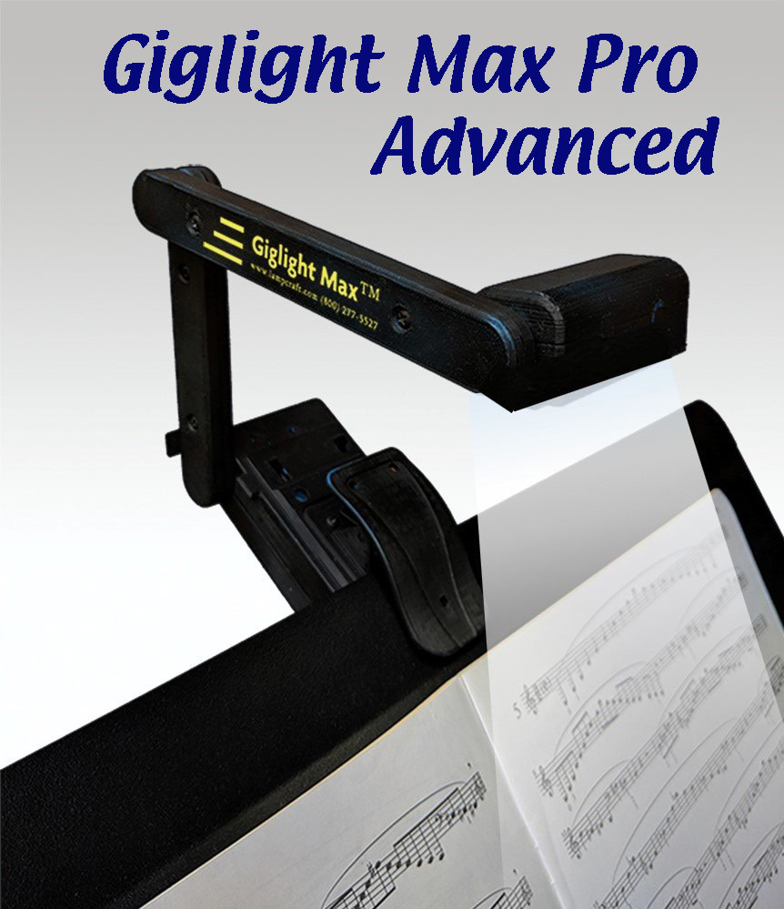 Giglight Max Giglight Max Pro Advanced stand light with hard case, NiMH batteries, fast charger, & AC adapter