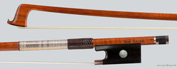 Canadian Eric Gagne violin bow, silver-mounted, Montreal, 61.0