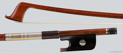 Canadian Eric Gagne cello bow, gold-mounted, Montreal, 81.2