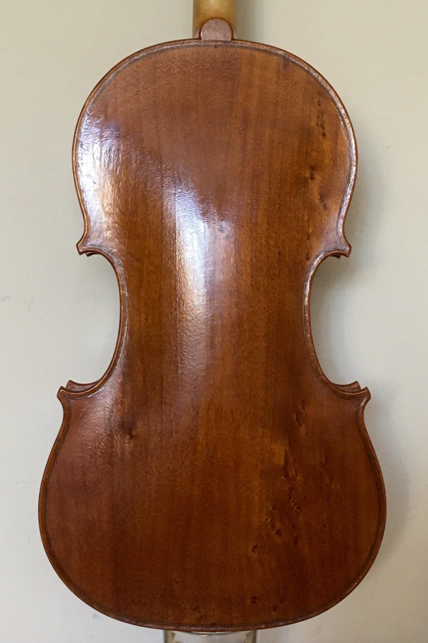 "16"" Stephen Lohmann viola, 2018, Fair Oaks"