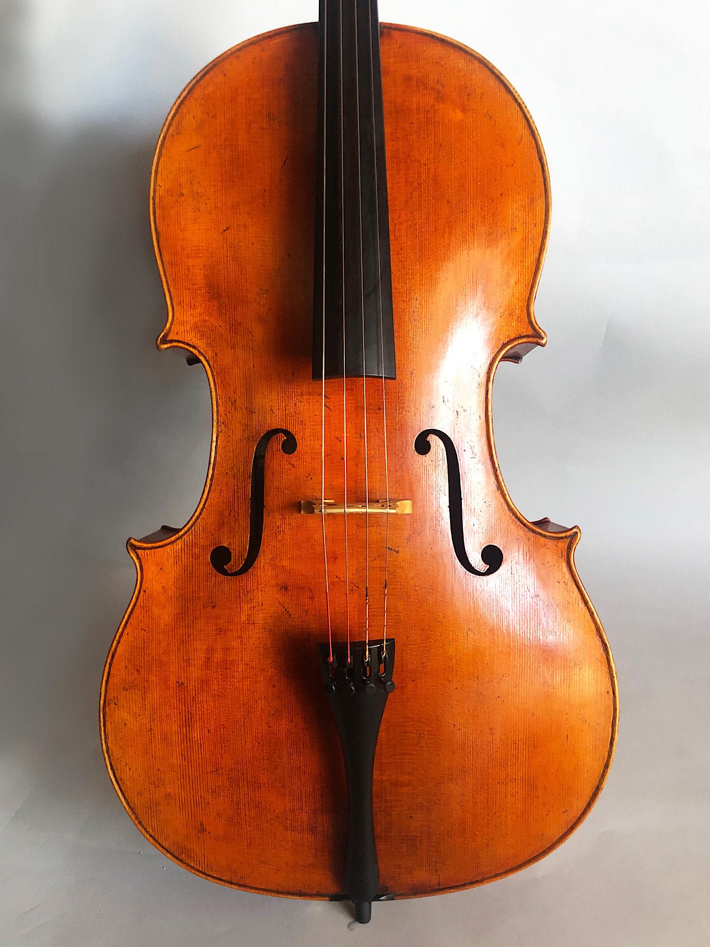 Kurt Jones cello, 2012, Seattle WA