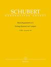 Barenreiter Schubert, Franz (Chusid): Quintet in C Op.163/D956 (2 violins, viola, 2 cellos) Barenreiter Urtext