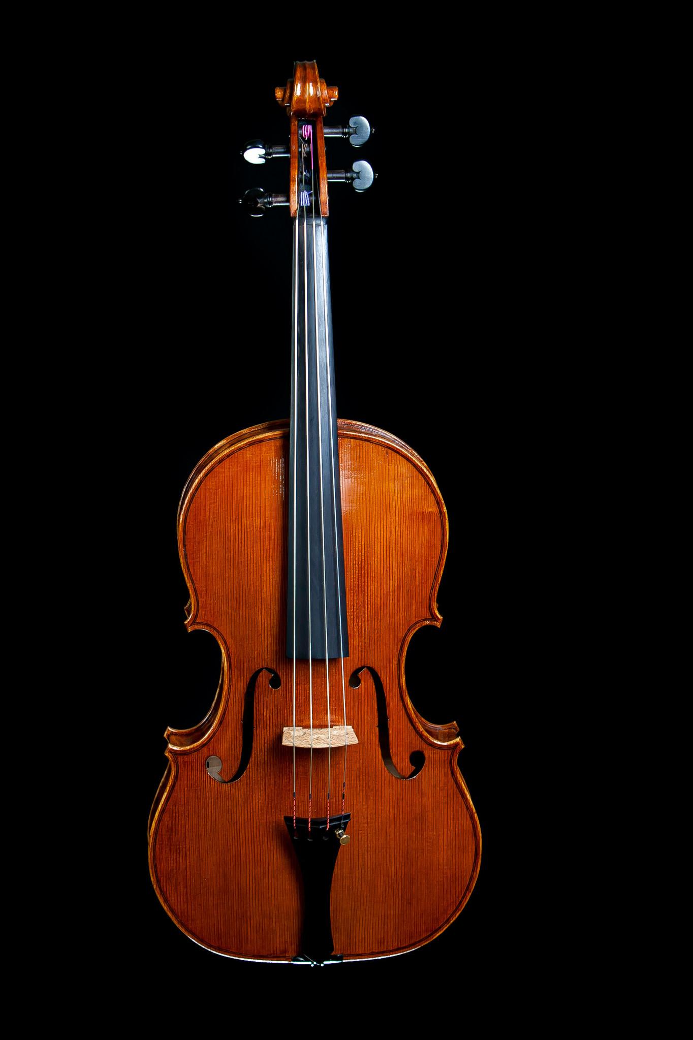 "16 1/8"" Jeff Lee Manthos viola, 2020, no. 89, Corvallis OR"