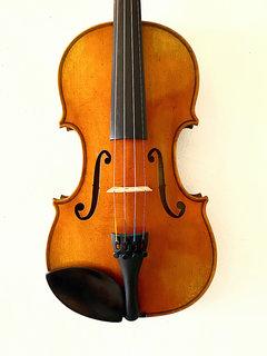 Henri Delille Pierre Marcel #6 violin, Guarneri del Gesu 1744 model, Belgium