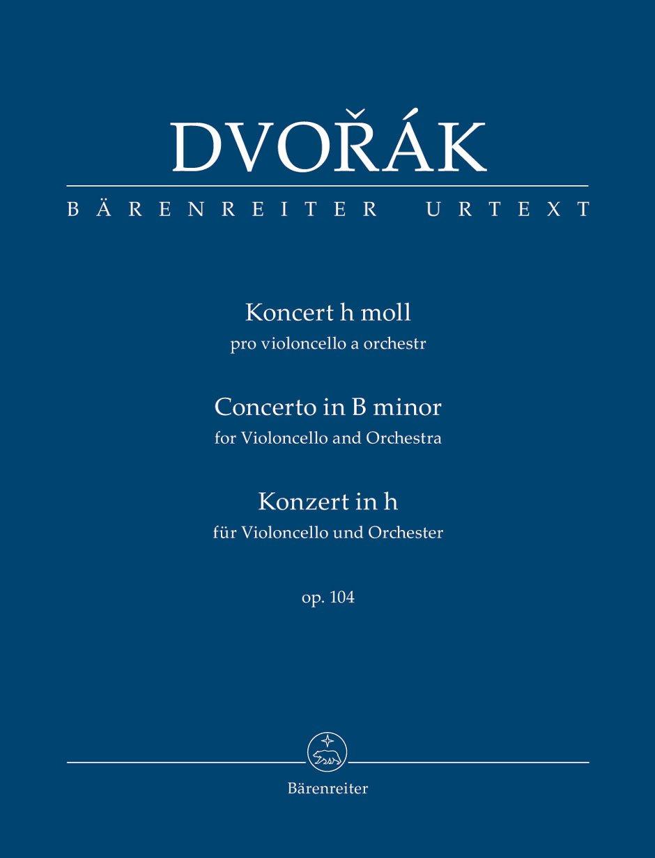 Barenreiter Dvorak, Antonin (Del Mar): Cello Concerto in B minor Op. 104 (Study Score) Barenreiter Urtext