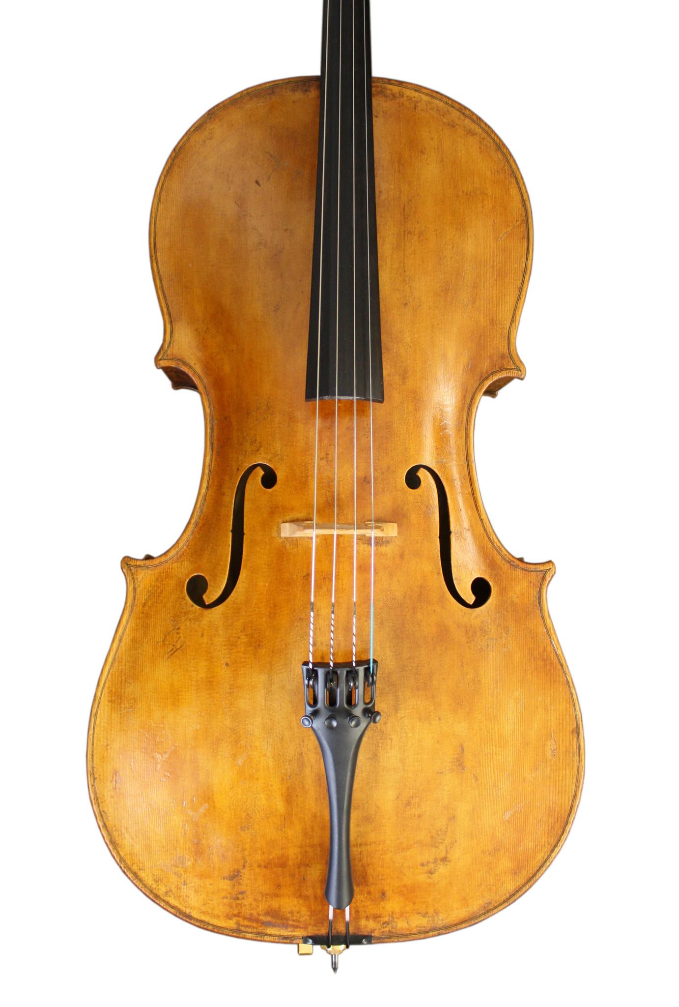 Michael Fischer cello, 2017, Grancino label, Los Angeles