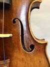 Boyd Poulsen violin, 2014, Mendocino