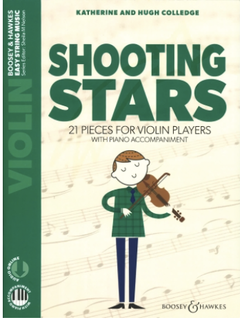 HAL LEONARD Colledge (Nelson): Shooting Stars (violin, piano, online) Boosey & Hawkes