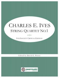 HAL LEONARD Ives (Porter): String Quartet No.1 (string quartet) PEER MUSIC