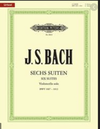 C.F. Peters Mini Peters Edition Bach Six Suites Sticky Notes