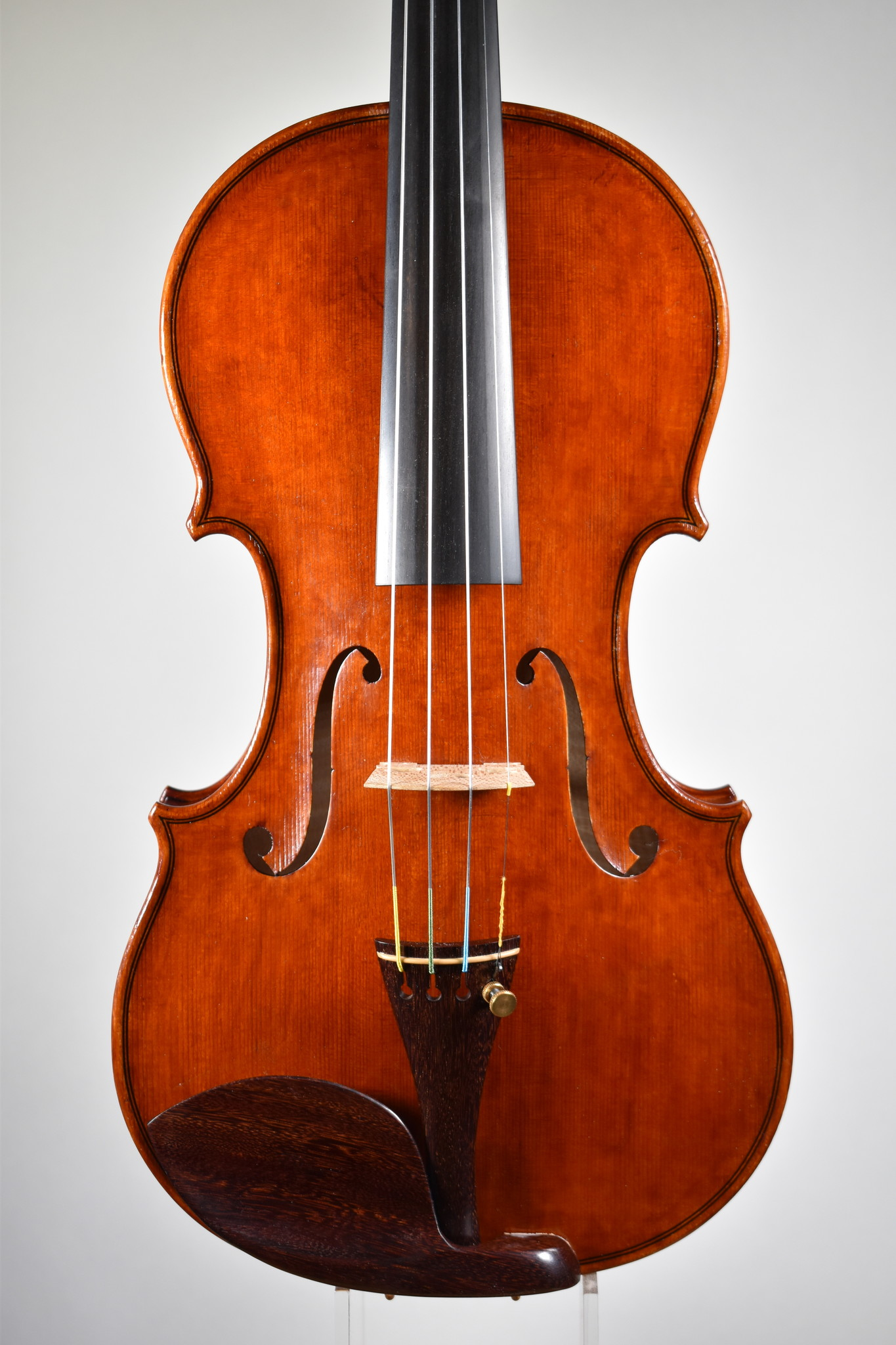 Robert Spetz violin, 1690 Stradivari Tuscan model, Salt Lake City, UT, 2020