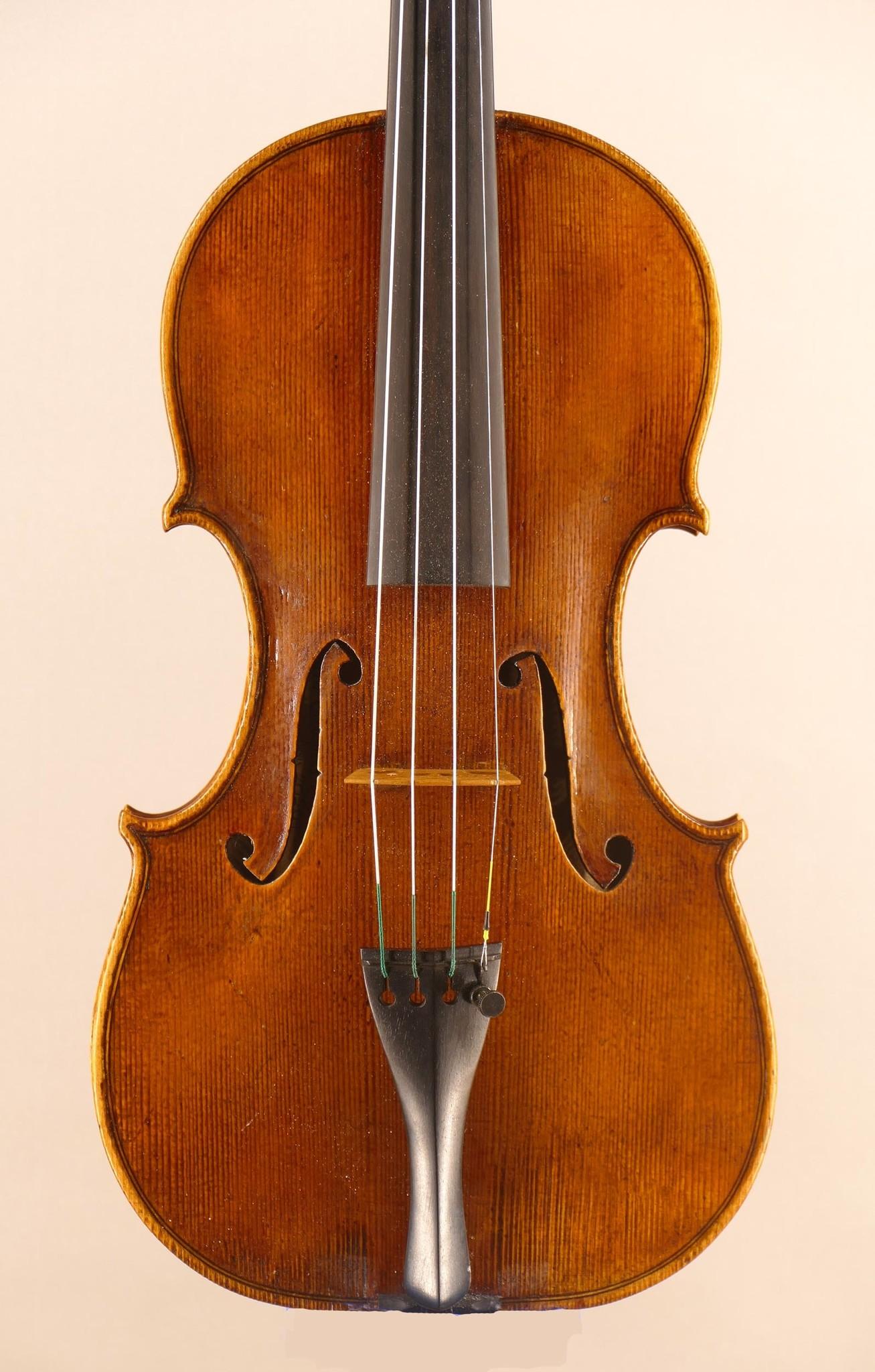 Andrew Carruthers violin, 2020, Santa Rosa, CA