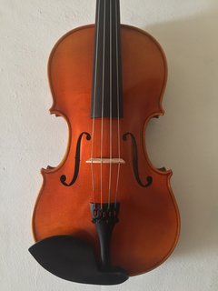 "Serafina Serafina DX 15 1/2"" viola outfit, with free case, bow, rosin & polish cloth"
