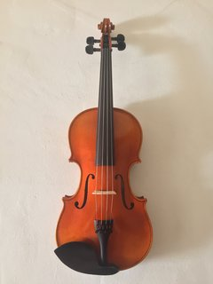 "Serafina Serafina DX 16 1/2"" viola outfit, with free case, bow, rosin & polish cloth"