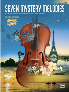 Alfred Music Hoey: Seven Mystery Melodies- Grade Level 1-2 (viola) ALFRED