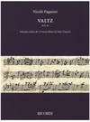 HAL LEONARD Paganini: Valtz (violin) Ricordi