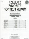 Carl Fischer Collier, Franklin: Cellists Favorite Contest Album (Cello, Piano, MP3 Audio)