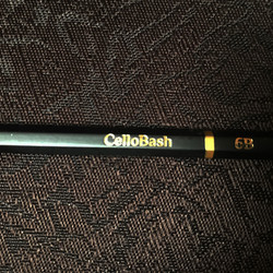 CelloBash CelloBash - Musician's Best Friend Pencil, 6B