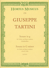 Barenreiter Tartini, Giuseppe: Sonata fur Violin and Bc G minor -Devil's Trill