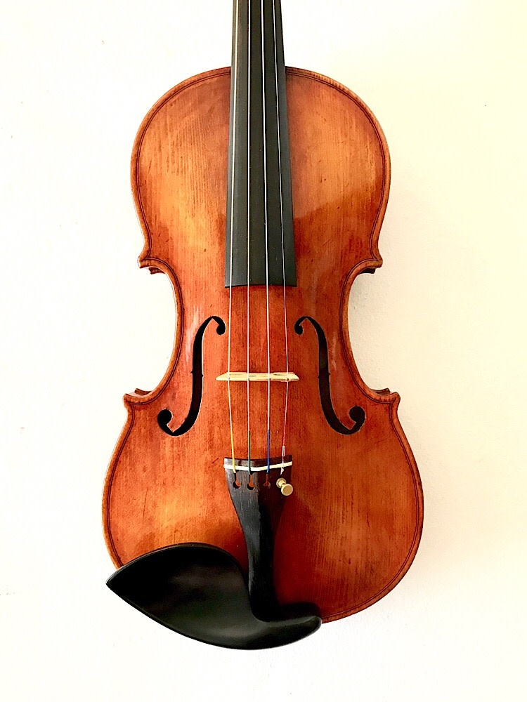 Joseph Puskas 4/4 violin, Los Angeles, 1986
