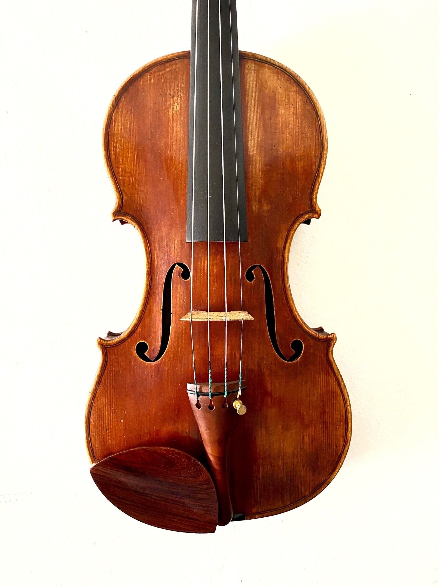 Georg Eittinger violin, 2003, Plowden Guarneri del Gesu model