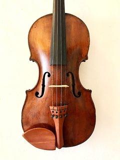 European L. & T. CARCASSI label violin, Florence, 1759
