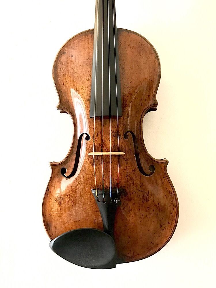 Italian Vincenzo Carcassi 1760 violin, Florence, ITALY (Wurlitzer certificate)