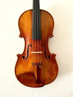Italian Benedicte Friedmann violin, Stradivari 1715 model, 2016, Cremona, ITALY