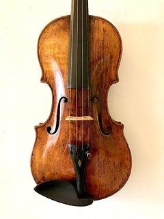 European Josephus Fernandus Leidolff violin, Vienna 1785