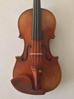 Scott Shu-Kun Cao violin, 2016, Bench copy of Milstein's 1716 Strad, Campbell, California, USA ***CERT***