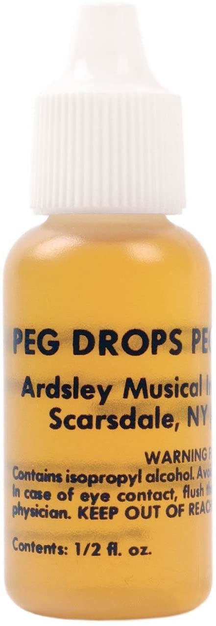 Peg Drops by Ardsley for slipping violin, viola or cello pegs
