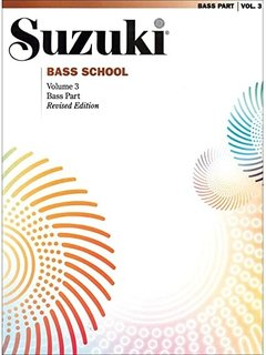 Suzuki: Bass School Vol. 3 (bass)