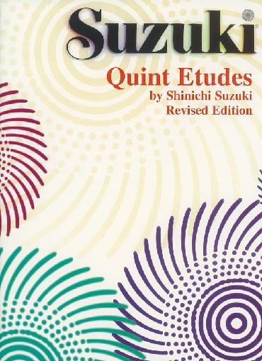 Suzuki, Shinichi: Quint Etudes, Revised Edition (violin)