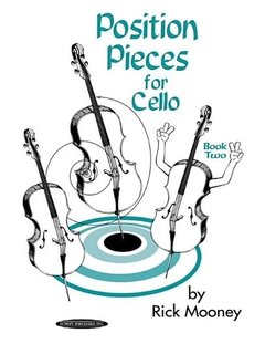 Mooney, Rick: Position Pieces for Cello Book Two (2 cellos)