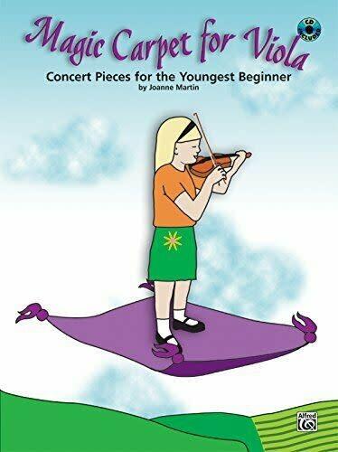 Martin, J.: Magic Carpet for Viola (Viola & CD)