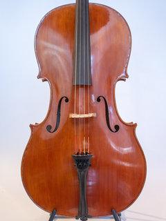 Carlos Funes Vitanza 4/4 cello, 2018, Strad Duport model, San Francisco, USA