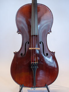 "German Cello labeled ""G Neuner Schwarzwald 1907"""